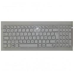 CLAVIER AZERTY NEUF ASUS X53, X75, F75, G73 series, X73SD - 04GNV35KFR01- 04GNWF7KFR00 3 - Blanc
