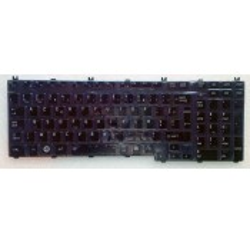 CLAVIER AZERTY NEUF TOSHIBA QOSMIO G50, G501, G55 - P000508190 - Gar.3 mois