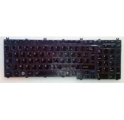 CLAVIER AZERTY NEUF TOSHIBA SATELLITE L550, Pro L550, L500 - K000079550 - K000077890 - Gar.3 mois