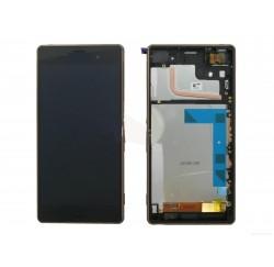 ENSEMBLE LCD + TACTILE + CADRE SONY Xperia Z3 D6603 D6653 - Noir