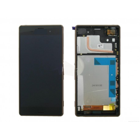 ENSEMBLE LCD + TACTILE + CADRE SONY Xperia Z3 D6603 - Noir