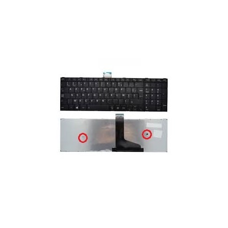 CLAVIER AZERTY NEUF TOSHIBA C50, C50D - H000053470 - H000054360 - H000060160