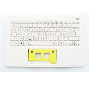 CLAVIER AZERTY + COQUE NEUF ASUS X200CA - 90NB02X1-R30080 - Blanc