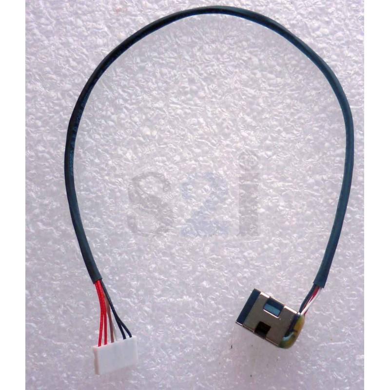 connecteur carte m re dc jack cable hp pavilion dv5 dv6 dv7 g61 g71 cq61 cq71 tldw106. Black Bedroom Furniture Sets. Home Design Ideas