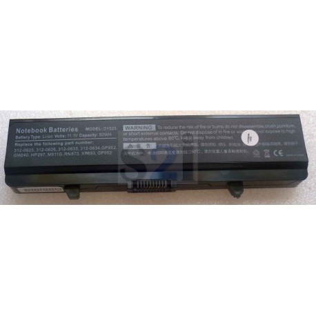 BATTERIE COMPATIBLE DELL - 11.1V - 50Wh - D1525 - 312-0625