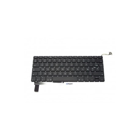 "CLAVIER AZERTY RECONDITIONNE APPLE MACBOOK Pro 15"" Unibody A1286 Mid2009/2010/2011 -"