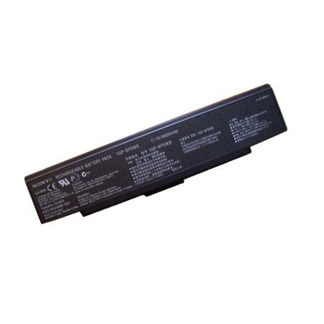 BATTERIE NEUVE COMPATIBLE SONY VGN-AR550 VGN-AR550E VGN-AR550U VGN-AR570, PCG-5J1M - 4400mah - 11.1V - Noire