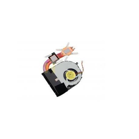 VENTILATEUR + RADIATEUR NEUF Toshiba Satellite P50, P50t, P55, P55t, S50, L50-A - H000047170