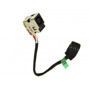 Connecteur carte mère DC Jack + Cable HP Pavilion G6-2000 series - 661680-302 - 661680-301 - 661680-YD