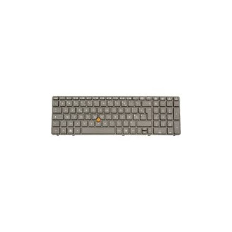 CLAVIER AZERTY NEUF HP EliteBook 8560W - 652682-051 - Avec Pointstick