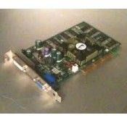 Carte vidéo nvidia d'occasion 128Mb AGP - CN-OU0842-38561 - Gar.1 mois