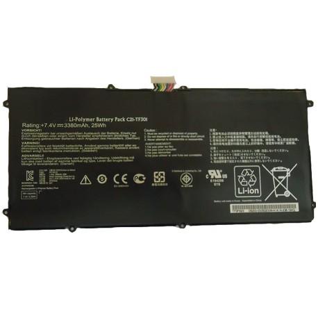 BATTERIE NEUVE pour ASUS TRANSFORMER TF700,TF700T, TF301 - C21-TF301 - 7.4V - 3380mah