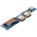 CARTE FILLE NEUVE SAMSUNG NP540U3C, NP530U3C - USB, POWER - BA92-09691A - BA92-11618A