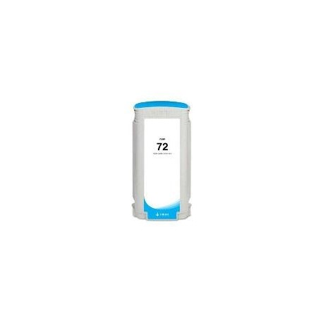 CARTOUCHE COMPATIBLE HP PHOTO CYAN DESIGNJET T1100 - N°72 - 130ML - C9371A