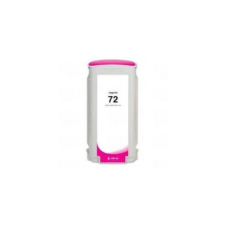 CARTOUCHE COMPATIBLE HP PHOTO MAGENTA DESIGNJET T1100 - N°72 - 130ML - C9372A