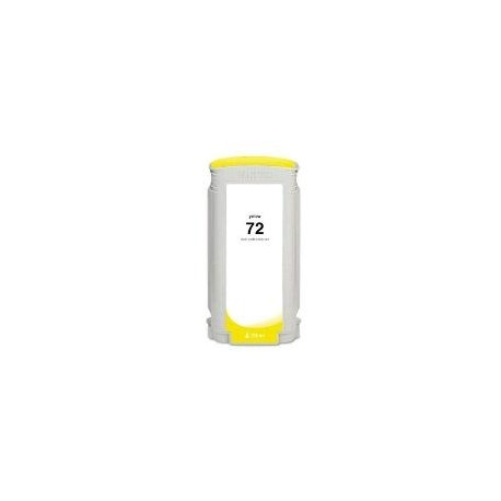 CARTOUCHE COMPATIBLE HP PHOTO JAUNE DESIGNJET T1100 - N°72 - 130ML - C9373A