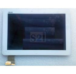 ENSEMBLE VITRE TACTILE + ECRAN LCD ASUS ME103K - Blanc