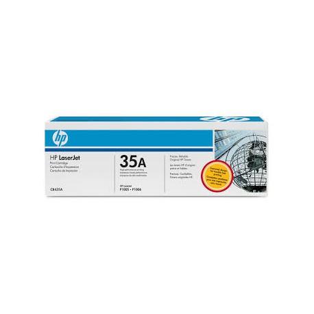 TONER HP NOIR LASERJET P1005 P1006 - CB435A - 1500 pages - 35A