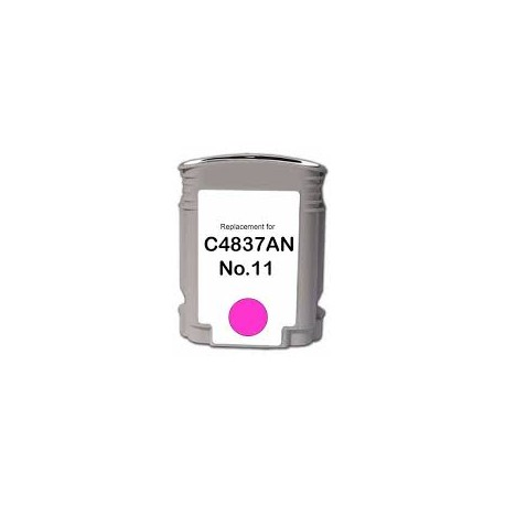 CARTOUCHE HP remanufacturee MAGENTA 28ML - 1750 PAGES - No11