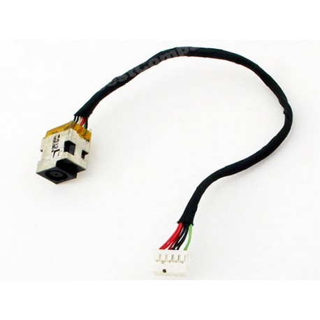 CONNECTEUR DC JACK + CABLE HP Pavilion DV7-4000, DV7-4100 DV7-4200, DV7-4300 DV7-4400 - 605364-001