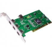 Carte PCI 4 pporrts IEEE1394a - fw-B401