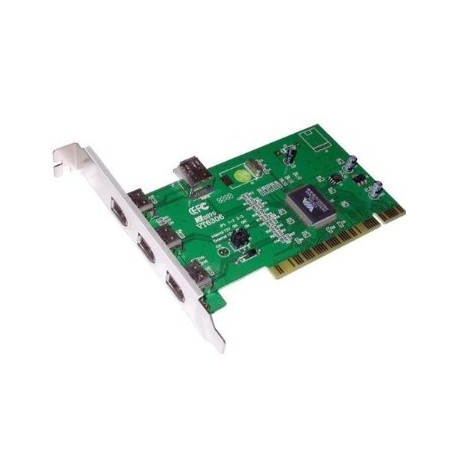 Carte PCI 4 ports IEEE1394a - fw-B401