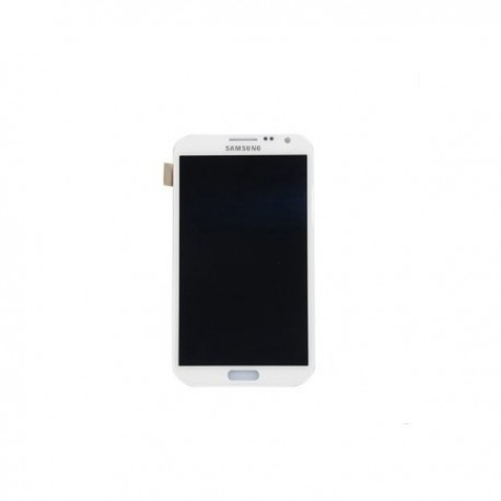 VITRE TACTILE + ECRAN LCD + CHASSIS SAMSUNG Galaxy Note 2 N7100 - BLANC