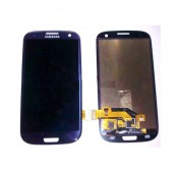 VITRE TACTILE + ECRAN LCD SAMSUNG Galaxy SIII, SIII 4G, GT-I9300 - GH97-13630A -Gar.1 mois - Bleu métal