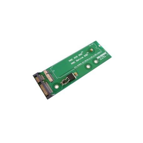 Adaptateur SATA pour SSD MACBOOK PRO RETINA 2012 8+18 BROCHES - PA5025G A1398 MC975 MC976 MD224 MD232 A1425