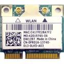 Carte wifi occasion DELL VOSTRO 1720, Inspiron mini 10 - CN-0FR016-13740 - Gar.1 mois