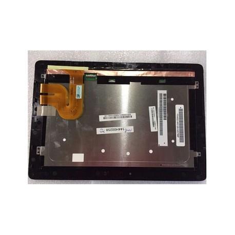 "ENSEMBLE NEUF VITRE TACTILE + ECRAN LCD + CADRE ASUS MeMo Pas ME301T K001, ME301 10"" - Version 5235N FPC1 REV4"