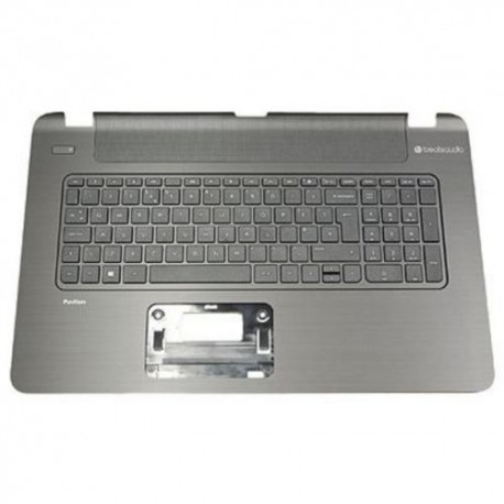 CLAVIER AZERTY + COQUE NEUF HP 17-F, 17T-F, 17Z-F, 17-F004DX 17-F019WM - 765806-051
