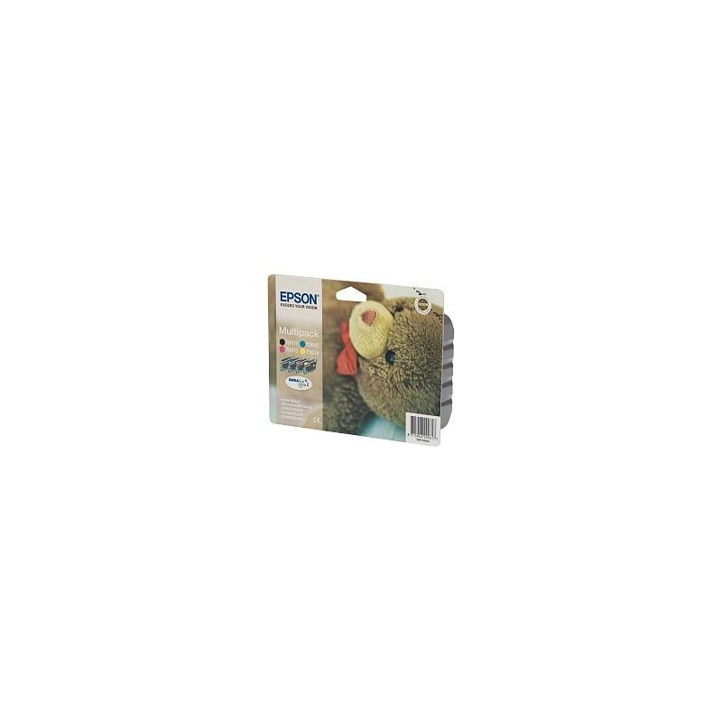 pack cartouches epson noir cyan mag jaune d88 dx3850 4850. Black Bedroom Furniture Sets. Home Design Ideas
