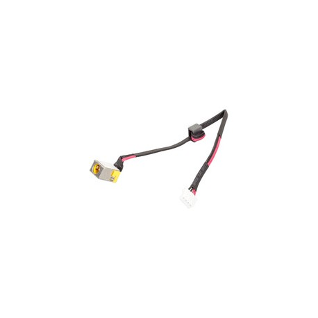 CONNECTEUR ALIMENTATION CARTE MERE + CABLE PACKARD BELL EASYNOTE TM94 - 50.WJ802.010 - Version 65W