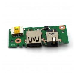 CARTE FILLE USB DC JACK NEUVE ASUS X301A, X401A, X501A - 60-NLOIO1001-X01 32XJ1IB0010