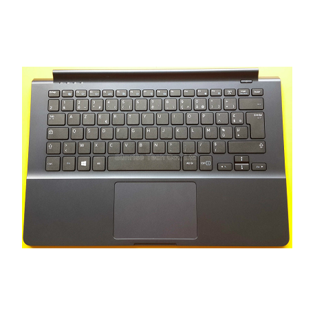 CLAVIER AZERTY NEUF + COQUE SAMSUNG NP905S3G NP910S3G NP915S3G Series - BA75-04674B - Noir