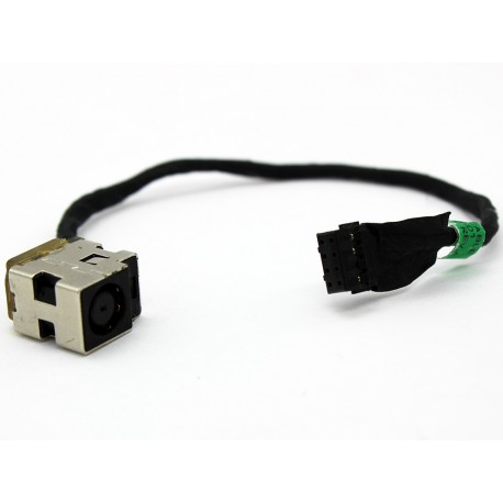 Connecteur carte mère DC Jack + Cable - HP Probook 4440S 4441S 4445S 4446S, Pavilion dv6-7000 - 678222-SD1 - Version 8 pins