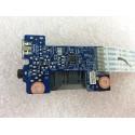 Carte fille lecteur carte numerique et prise jack pour Lenovo G480 G580 N580 LS-7986P - Gar.3 mois