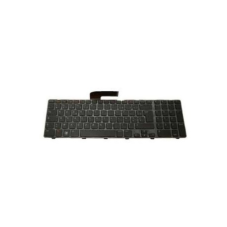 CLAVIER AZERTY NEUF DELL Inspiron 17R N7110 - 2Y8J6 - Avec Cadre