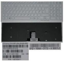CLAVIER AZERTY NEUF SONY VPC-EB - BLANC - V111678B FR - 148793441