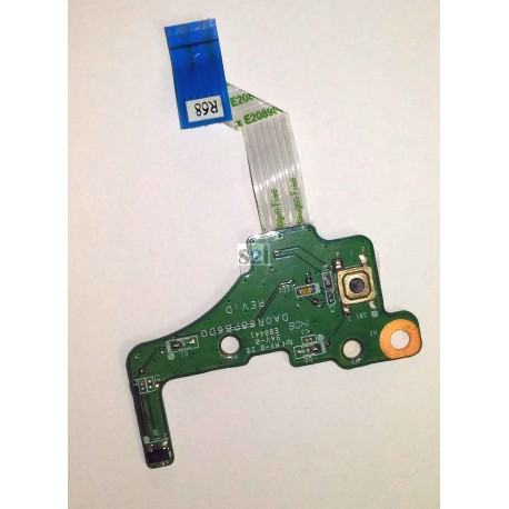 CARTE BOUTON POWER HP PAVILION 17-E series - 720673-001 - DA0R68PB6D0