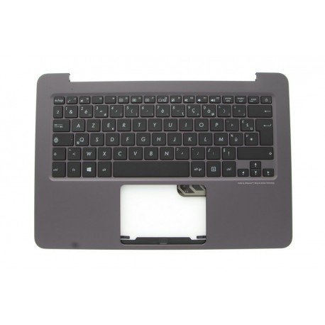 CLAVIER AZERTY NEUF + COQUE MARRON ASUS UX305, UX305FA, IUXC - 90NB06X1-R31FR0