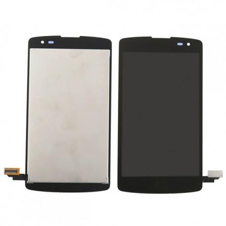 ENSEMBLE VITRE TACTILE + ECRAN LCD NEUF LG F60 D392 D390N D390 D390N - Noir