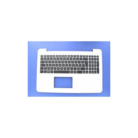 CLAVIER AZERTY NEUF + COQUE ASUS X555, X555LD - Blanc - 90NB0629-R31FR0