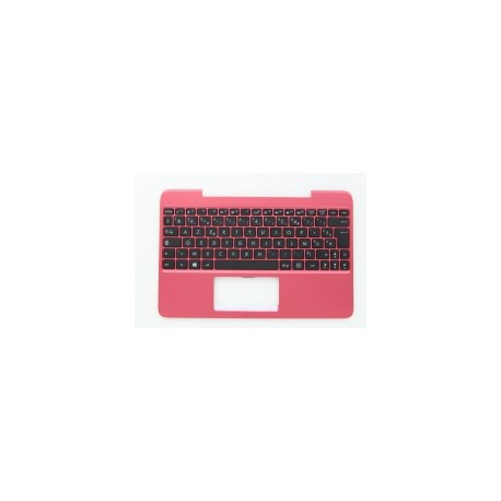 CLAVIER AZERTY NEUF + COQUE ASUS X555, X555LD - Rouge - 90NB0624-R31FR0