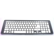 CLAVIER BLANC AZERTY NEUF AVEC CADRE GRIS Packard Bell EasyNote LV11HC, LV44HC - 60.C1PN5.020