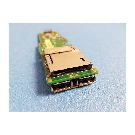 CARTE FILLE USB + LECTEUR DE CARTE OCCASION ASUS K72J k72jp K72JK K72DR X72D - 60-NXHUS1000-D03