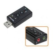 CLE USB MINI CARTE SON USB 2.0 - 7.1