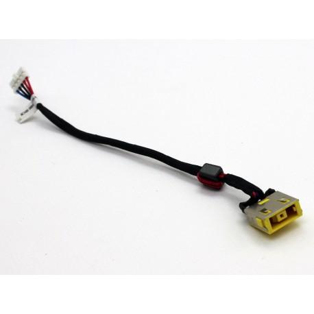 CONNECTEUR DC JACK + CABLE IBM LENOVO Ideapad G500S, G505S - DC30100PC00