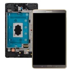 ECRAN COMPLET SAMSUNG Galaxy Tab S 8.4 SM-T700 - GH97-16047B - Gris Titane